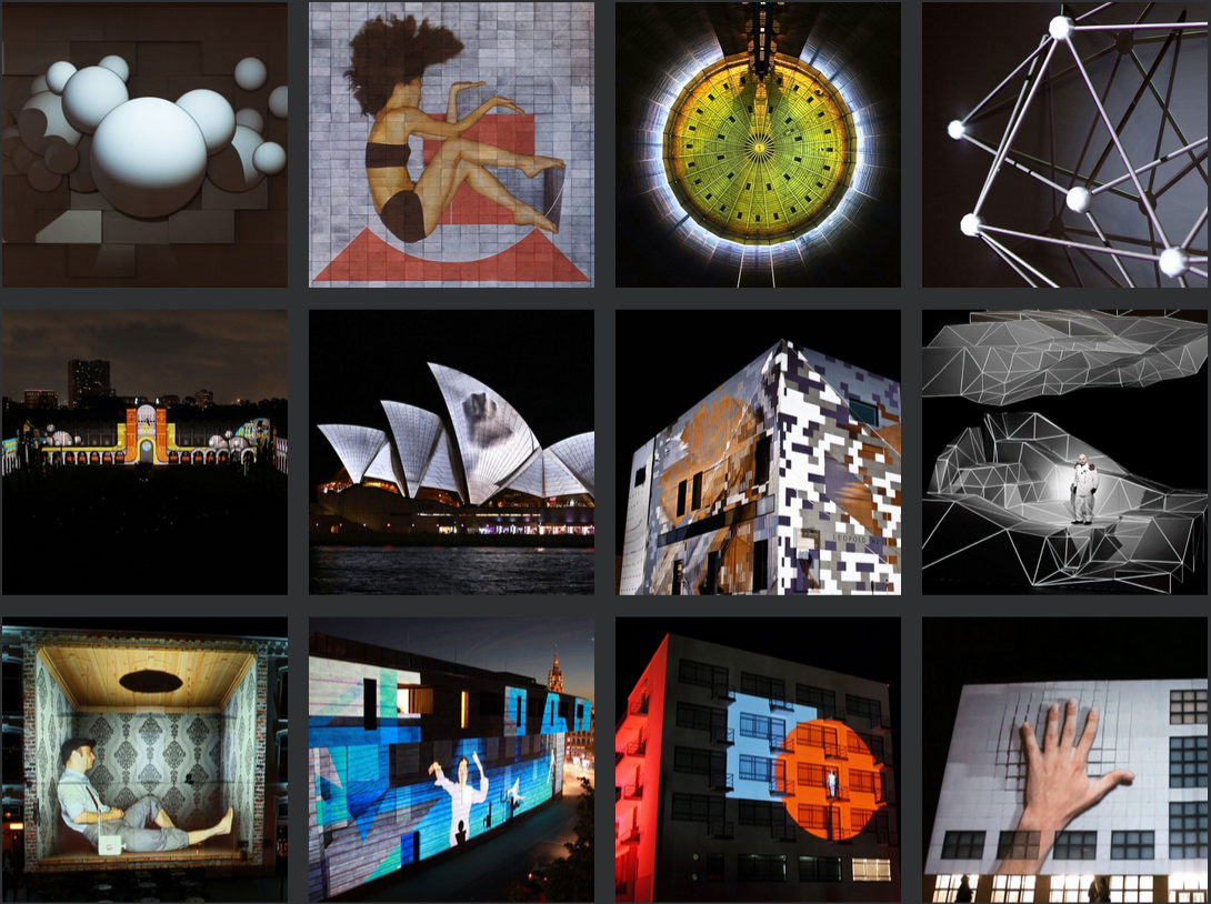 UrbanScreen Projection Mapping ProjectileObjects